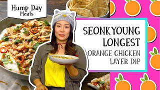 Orange Chicken Layer Dip l Hump Day Meals-Seonkyoung Longest by Tastemade