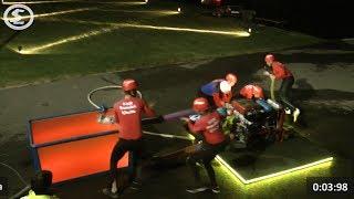 Noční soutěž mladých hasičů Nevcehle 2017