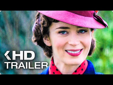 MARY POPPINS' RETURNS All Clips & Trailers (2018)