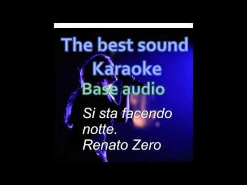 , title : 'Si sta facendo notte - Renato Zero - karaoke'