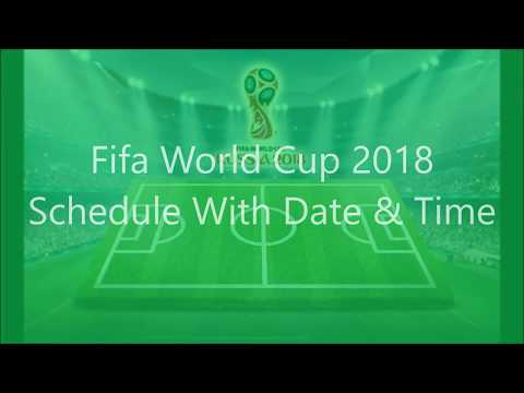 World Cup 2018 Shedule With Date & Time