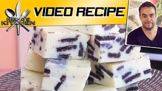 Oreo White Chocolate Fudge - Video Recipe