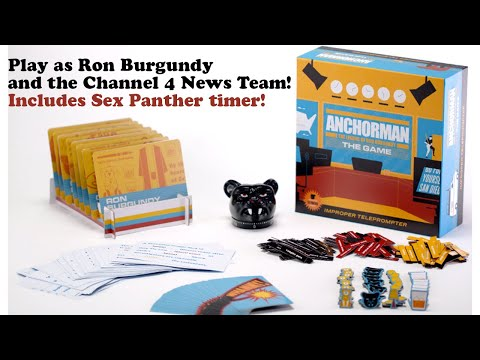 Anchorman: The Legend of Ron Burgundy - THE GAME! (Kickstarter)