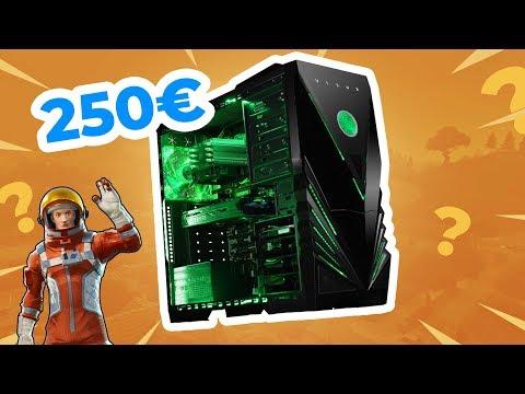 J'AI ACHETÉ UN PC GAMER À 250€ SUR AMAZON POUR JOUER À FORTNITE !