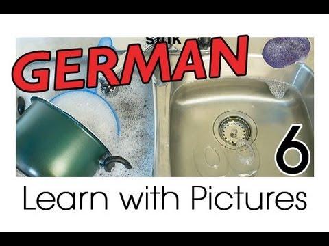 Learn German – German Kitchen Vocabulary