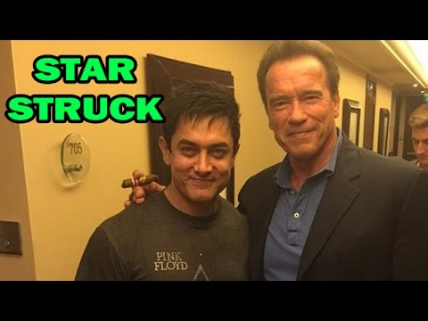 Aamir Khan Meets Hollywood Star Arnold Schwarzenegger In Delhi | Bollywood News