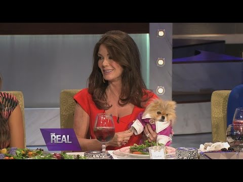 "lisa - Lisa Vanderpump is known as the queen of etiquette, but she also knows how to keep it REAL! The ""Real Housewives of Beverly Hills"" star takes ""The Real"" ladies to charm school in this..."