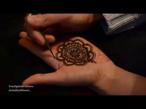 Mehndi Mandala Designs : Mehndi design nails beautiful decorative mehendi nail art