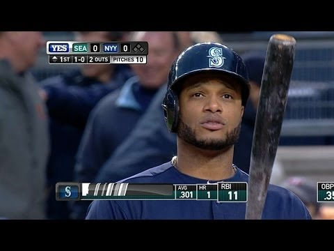 Cano strikes out in return to Yankee Stadium