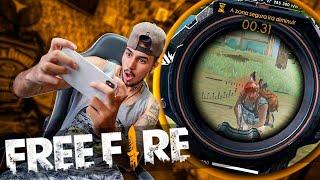 PRIMEIRA VEZ JOGANDO FREE FIRE !! *vcs querem vídeos de jogos??*