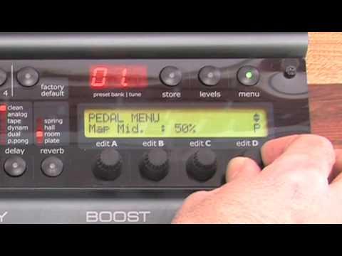 Nova System - Assign Expression pedal to volume