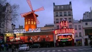 Paris-Moulin Rouge-TimeLapse