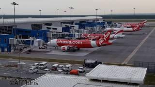Video AirAsia A320neo pushback and engine start MP3, 3GP, MP4, WEBM, AVI, FLV Agustus 2018