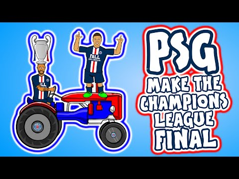 🏆Neymar makes the Champions League Final!🏆 (Feat Mbappe, PSG, RB Leipzig Goals Highlights 0-3 2020)