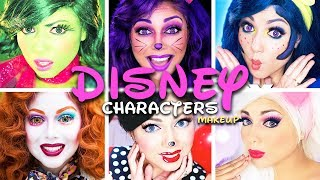 "An ultimate collection of Disney Character inspired makeup looks! Disgust from Inside Out, the Cheshire Cat from Alice in Wonderland, Dory from Finding Dory, the Mad Hatter, Minnie Mouse, and Daisy Duck! Hope you enjoy!Want to know me more? Come hang out with me:SNAPCHAT: ""Charisma.Star""PERISCOPE: ""CharismaStar""FACEBOOK: http://www.facebook.com/CharismaStarTVTWITTER: http://www.twitter.com/CharismaStarTVCharis' INSTAGRAM: ""CharismaStarNEW! I have a PO Box (finally)!Charisma Star TVPO Box 55193North Pole, AK 99705Want to know me more? Come hang out with me:SNAPCHAT: ""Charisma.Star""PERISCOPE: ""CharismaStar""FACEBOOK: http://www.facebook.com/CharismaStarTVTWITTER: http://www.twitter.com/CharismaStarTVCharis' INSTAGRAM: ""CharismaStar""FOR BUSINESS INQUIRIES, please email:charismastar@mattermediagroup.com Camera: Sony a7sEditor: Final Cut Pro"