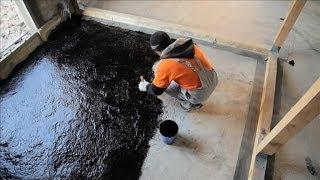 Гидроизоляция пола: технология ремонта - Дача