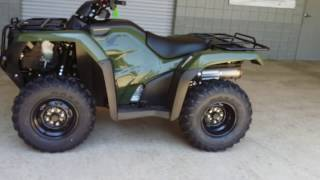 6. 2016 Honda FourTrax Rancher ES 420 2x4 ATV Walk-Around Video | TRX420TE1G