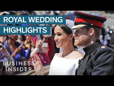 Meghan Markle And Prince Harry's Royal Wedding: Every Moment You Need To To See
