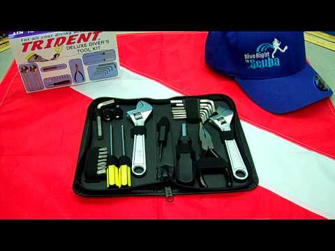 Trident Deluxe Diver's Tool Kit