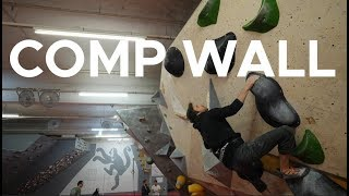 COMP wall sesh by Bouldering Bobat