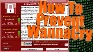 Prevent Wanna Cry Ransomware Attack  PROTECT YOURSELF NOW! Disable SMB v1 In Windows 7: https://youtu.be/q9vu820a3CU Check out more Tips to help protect you...