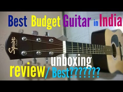 Fender SA-105 Acoustic Guitar | Complete Unboxing & Review In HINDI | Best Budget Guitar??