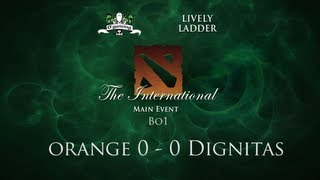 [Ep#8] The International 3 - Orange vs Dignitas - Round 2 Loser Bracket