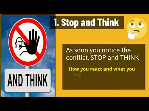 Conflict Resolution -  Learning to Deal With Conflict