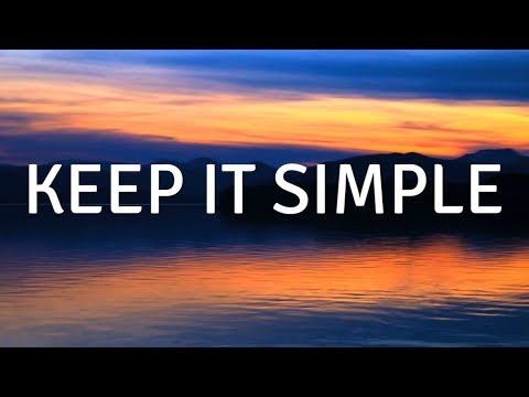 Keep It Simple (with Music) A Guided Meditation For DEEP Sleep, Guided Meditations, Guided Sleep