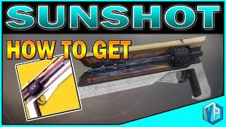 """Today I will tell you guys how to get the new exotic the Sunshot handcannon in Destiny 2!Destiny 2 Giveaway: https://www.youtube.com/watch?v=SgAxriJwF9ISupport me on Patreon: https://www.patreon.com/vprivilege-SOCIAL MEDIAS-Subscribe To Join """"Privileged Ones"""": https://www.youtube.com/channel/UC94y8WJThuyMH_uDie6c_CA?sub_confirmation=1Subscribe to DRAW with VPG Channel: https://www.youtube.com/channel/UCyUnAHFzbabRqcVYjjiQgUw?sub_confirmation=1Follow me on Twitter: https://twitter.com/VPrivilegeFollow me on Instagram: https://instagram.com/vprivilege/Follow me on Facebook: https://www.facebook.com/huhtrn/Watch me on Twitch: http://www.twitch.tv/huhtrnEmail: sixofthenine@gmail.com -SPONSORS- USE Code """"VPG"""" to SAVE $$$ at checkout!CHEAPEST STEAM GAMES G2A: https://www.g2a.com/r/huhtrnRazer: https://www.razerzone.com/store Kontrol Freeks: https://www.kontrolfreek.com/rewardsref/index/refer/id/689737/Violent Privilege Gaming Apparel: https://shop.spreadshirt.com/vprivilegeBluvos Energy: https://www.bluvos.com/ref/VPrivilege/"""