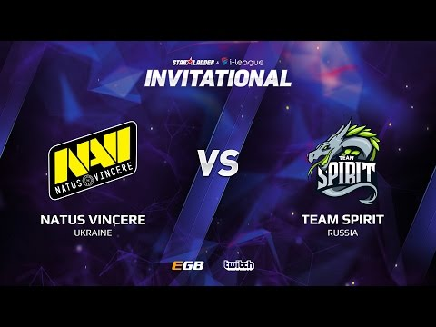 Natus Vincere vs Team Spirit, Game 1, SL i-League Invitational S2, EU Qualifier