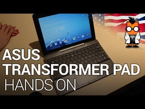 ASUS Transformer Pad TF303CL Hands On