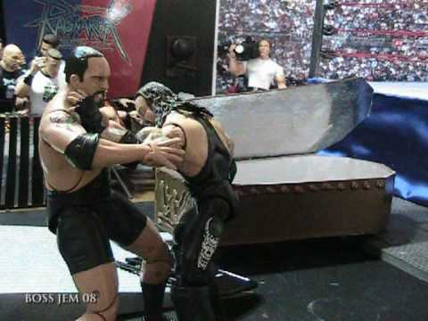 WWE Toys in Motion (WTM) Bigshow VS the Undertaker – Casket Match