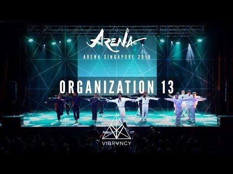 Organization 13 | Arena Singapore 2019 [@VIBRVNCY 4K] - Thời lượng: 5 phút, 19 giây.