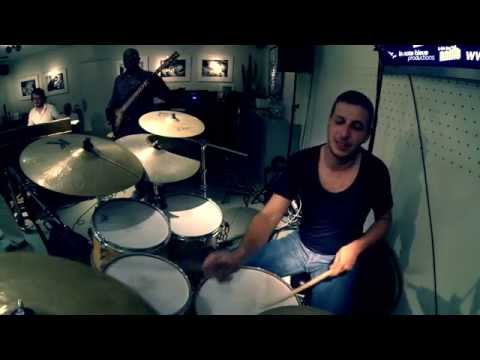 Nicolas VICCARO Drums Solo with Bill EVANS - Etienne MBAPPE - Fred DUPONT