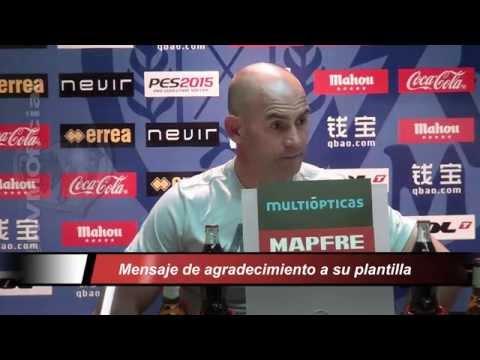 """Paco Jémez: """"La temporada ha sido excelente"""""""
