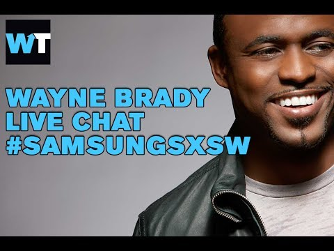 Wayne - Wayne Brady stops by the Samsung Blogger Lounge to chat with Shira about