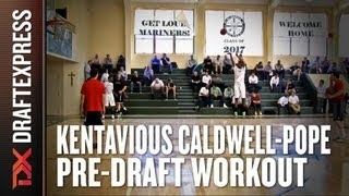 Kentavious Caldwell-Pope 2013 NBA Pre-Draft Workout & Interview