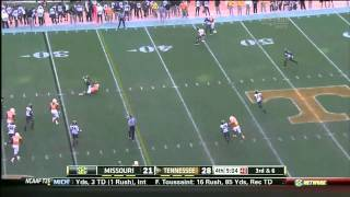 Tyler Bray vs Missouri (2012)