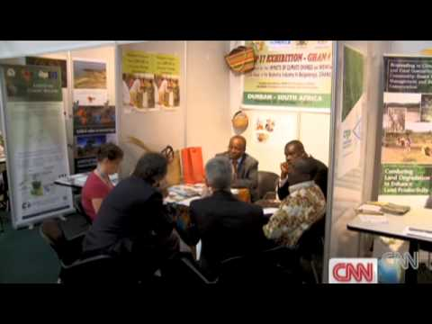 Econet Solar  Home Power Station on CNN
