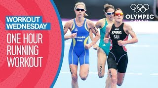 Join double Olympic medallist triathlete Nicola Spirig as she shares her favourite one hour running workout session to improve performance.Get the best workout tips from top Olympians: http://bit.do/WorkoutEN Subscribe to the official Olympic channel here: http://bit.ly/1dn6AV5