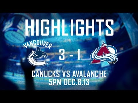 Canucks - Mike Santorelli scored twice and added an assist in the Vancouver Canucks 3-1 win over the Colorado Avalanche. Ryan Kesler with the other tally for Vancouver...