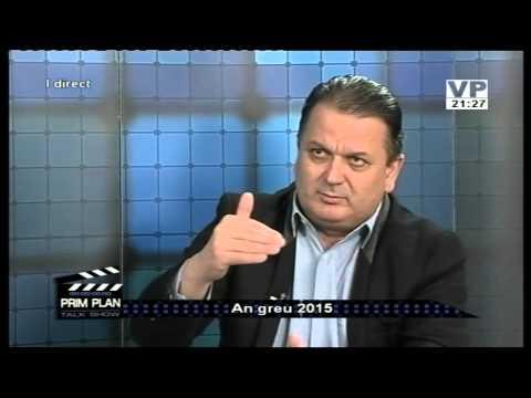 Emisiunea Prim Plan – Virgil Guran – 27 ianuarie 2015