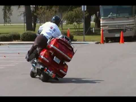 Trick Riding on a Goldwing