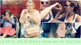 Malibu Beach & Dinner with the ShayTards