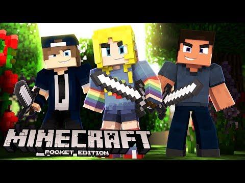 Minecraft PE, XBOX, & Windows 10 W/ Fans! | Minecraft Realms #1 (видео)