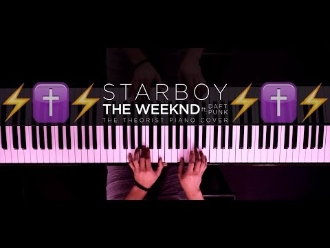 Starboy  Instrumental Piano Cover