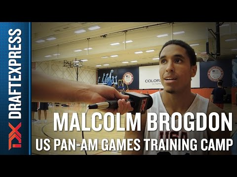 Malcolm Brogdon 2015 US Pan-Am Games Training Camp Interview