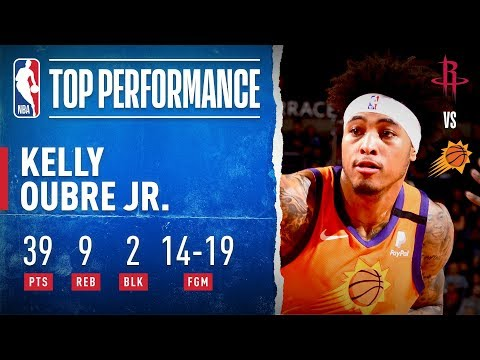 Kelly Oubre Jr. Tallies CAREER-HIGH 39 PTS!