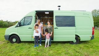 FAMILY of FOUR converts OFF-GRID VAN to travel the WORLD by Nate Murphy